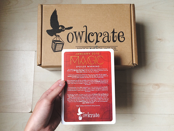 OwlCrate Jan 1